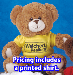 Our catalog pricing includes the printed t-shirt or accessory.