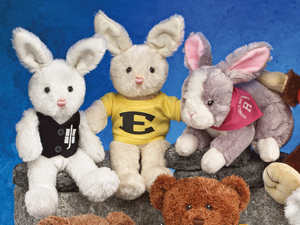 Buy bunny rabbits for the Easter Season. They are found on our Ol' Friends Page.