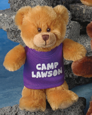 """This is the 7"""" Smitty Bear. Choose from white, brown and honey colors."""